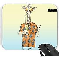 Muismat - Giraffa In Vacanza by Olga Angelloz