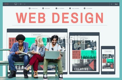 druck-shop24 Wunschmotiv: Web Design Software Technology Layout Blogging Concept #122303303 - Bild als Foto-Poster - 3:2-60 x 40 cm/40 x 60 cm
