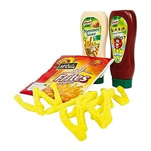 Tanner - 8298 - Jeu D'imitation - Cuisine - Pommes Frites Avec Ketchup Et Mayonnaise