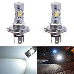 Katur 70561156BA15s 1141P21W bianco lampadine LED 2835SMD 80W ad alta potenza 12V LED Lens girare segnale Back up Reverse Tail freno LED luce (confezione da 2)
