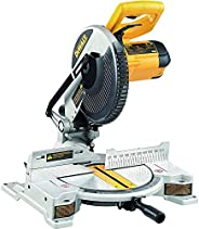 DEWALT DW714 1650Watt 10 Inch Compound Mitre Saw with 80T TCT blade