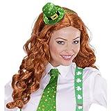 NET TOYS St. Patrick's Day Hut Mini Zylinder Kobold Leprechaun Fascinator Minizylinder Irland Minihut St Particks Day Irischer Hut Damenzylinder
