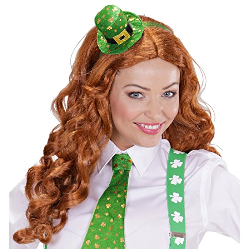 St. Patrick's Day Hut Mini Zylinder Kobold Leprechaun Fascinator Minizylinder Irland Minihut St Particks Day Irischer Hut Damenzylinder