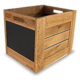 Tafelbox, Holzbox 30 in Eiche hell oder geräuchert (Eiche hell)
