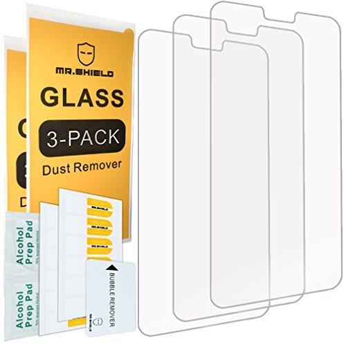 3-pack Screen Protector (Mr.Shield [3-Pack]-Herr Schild für Huawei P20Lite [gehärtetem Glas] Displayschutzfolie [Japan Glas mit 9H Härte] mit Lebenslange Umtausch-Garantie)