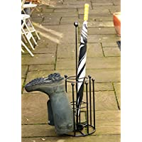 4 Pair boot and Umbrella stand
