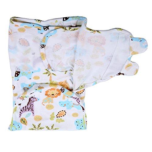 iEvolve 100% Baumwolle Baby Pucksack pucktücher Mädchen Junge Buntes Drucken 0-3 Monate