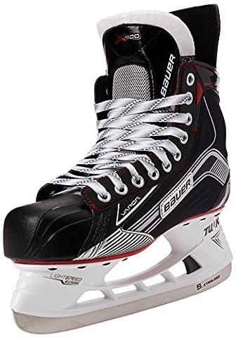 Bauer Vapor Men X500Senior Ice Hockey Skates, Men, Bauer Schlittschuh Vapor X500 Senior, black / silver, 09.0/44.5
