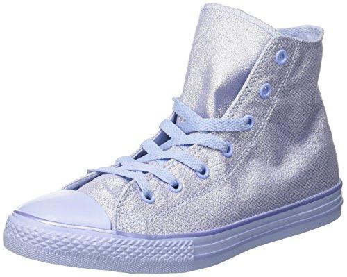 Converse Unisex-Kinder CTAS Hi Blue Chill Hohe Sneaker, Blau (Blue Chill), 30 EU (Blaue Converse Kinder)