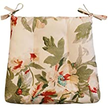 Soprattutto tappetini in tessuto spessi Country Style Breathable Cushions-Red 2