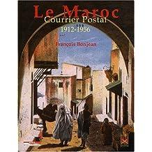 MAROC COURRIER POSTAL 1912-56