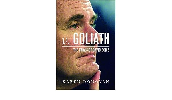 Goliath v The Trials of David Boies