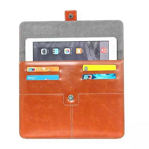 Solid Color Universal Ledertasche für Tablet 10 Zoll ( Color : Black ) Coffee
