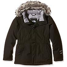 The North Face G Greenland Down Parka - Chaqueta para niña, color negro, talla YM
