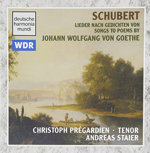 Schubert : Lieder sur des poèmes de Goethe [Import anglais]