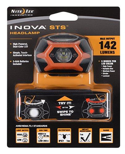 Preisvergleich Produktbild Inova LED STS Kopflampe 142 Lumen, Orange I-HLSA-19-R7-I