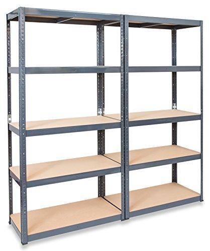 2-x-storalexr-600mm-deep-garage-shelving-racking-units-200kg-udl-free-mallet
