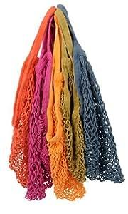 ECOBAGS®Reusable Grocery Earthtone Set of 5 Cotton Market Tote Bags, Garden, Haus, Garten, Rasen, Wartung