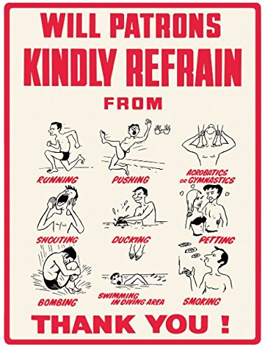 will-patrons-kindly-refrain-metal-wall-sign-large-30cm-x-40cm