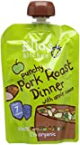Ella's Kitchen Stage 2 from 7 Months Organic Roast Pork Dinner With Apple 130 g (Pack of 6)
