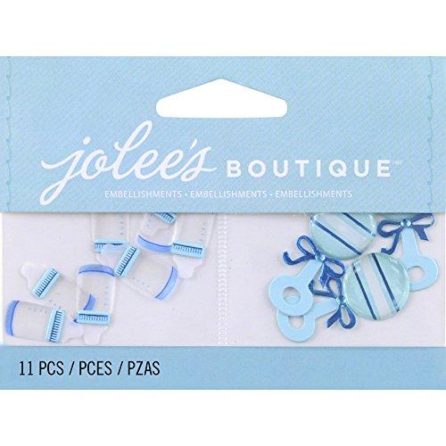 Jolee 's Boutique 50-00440Fotoalben, Baby Boy Flaschen und Rasseln -