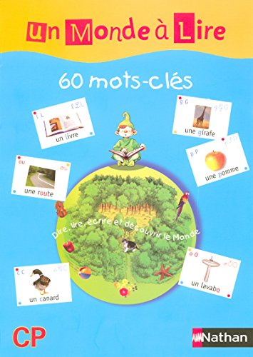 60 affichettes mots-clés Un Monde à Lire CP