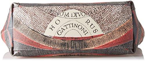 Gattinoni Gplb006, Borsa a Spalla Donna, 13 x 24.5 x 31 cm (W x H x L) Grigio (Tibetan)