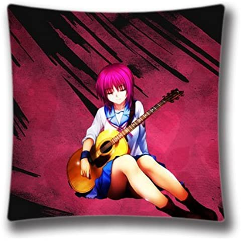 Yokon Anime DIY Design Shiny Home Decorative Custom Anime Acoustic Guitar Pillow Case 18