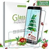 Ulimag Huawei P10 Protector de Pantalla, [2 Pack] 3D Full Coverage Cristal Templado Protector de Pantalla 9H Dureza, Sin Burbujas, Alta Transparencia para Huawei P10 - Transparente