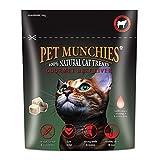 Pet Munchies Gourmet Katzensnacks mit Rinderleber (10 g) (Mehrfarbig)