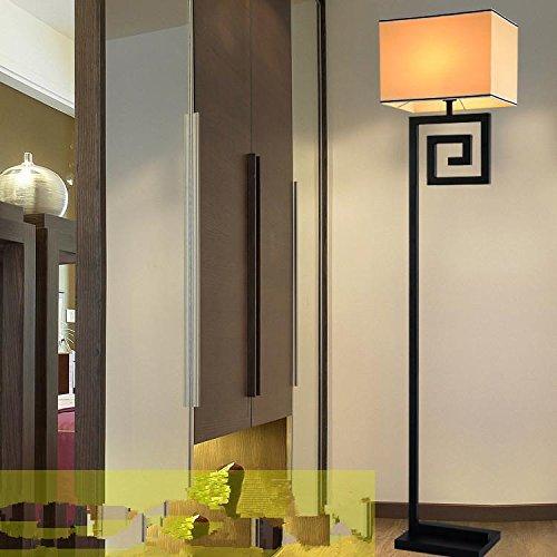 BBSLT Nuovo cinese moderno minimalista moderno salotto camera da letto comodino den caldo ferro battuto lampada da tavolo , floor lamp