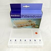 na-und 40177 Pillendose 7 Tage Box + 2 Fächer Tablettendose 8x13cm frosty preisvergleich bei billige-tabletten.eu