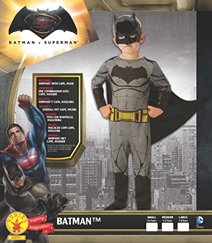 Imagen de batman v superman  dawn of justice, disfraz para niños, talla m rubie's spain 620421  alternativa