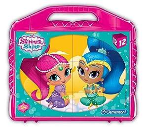 Clementoni 41187Shimmer y Shine-Baby Puzzle Cubo, 12Piezas