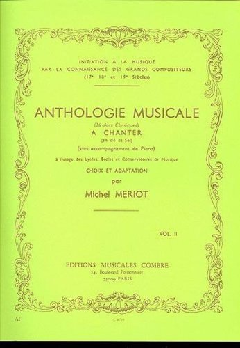Anthologie musicale vol.2 - 26 airs clas...