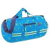 Reisenthel Mini Maxi Duff lebag S Kids borsa sportiva per bambini, 38cm, 10L, Bambini, Cactus Blue, 38 cm