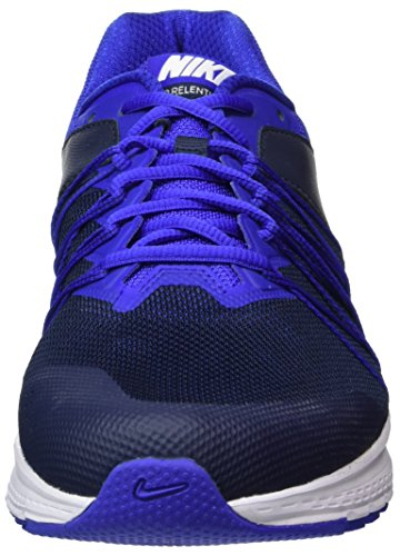 Nike 843836-402, Chaussures de Tennis Homme Bleu (Obsidian / White / Paramount Blue)