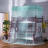Quadratisch, netting vorhänge,Tunnelzug netting vorhänge,Etagenbett stockbett netting-einstreu Treppe betthimmel Student-etagenbett netze man moskitonetze-V Twinch2