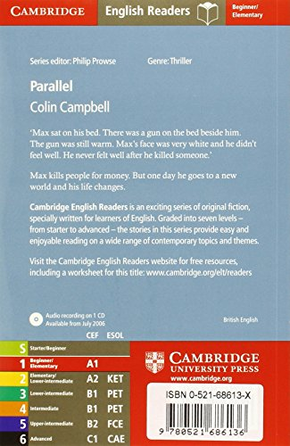 CER1: Parallel Level 1 Beginner/Elementary Book with Audio CD Pack: Beginner / Elementary Level 1 (Cambridge English Readers)