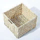 Homcom-Kommode-Schrank-Sideboard-Aufbewahrung-Tisch-Holz-Schubladen-Krbe-2-Farben
