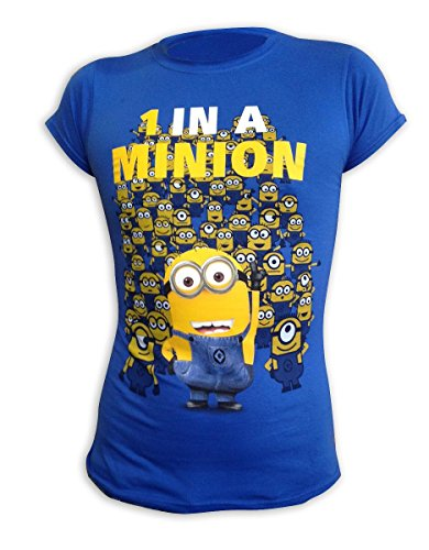 serlich Girlie-Shirt 1 In A Minion in blau (L) (One In A Minion)