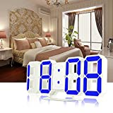 #3: Home buy Modern Digital Led Table/Wall Hanging Clock Watch, 24 Or 12-Hour Display