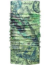 BUFF Foulard Multifonctionnel BEIGE & MARRON, Polyester, one size