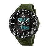 maschile orologio - SKMEI maschile all'aperto multifunzione mozione elettronico orologio impermeabile Army Verde