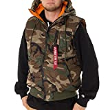 Alpha Industries Hooded MA-1 Winterweste woodland camo 65