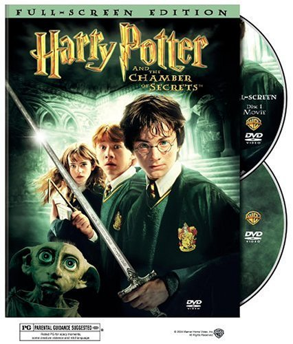 Click for larger image of Harry Potter & Chamber of Secrets [DVD] [2002] [Region 1] [US Import] [NTSC]