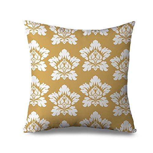 Fiore cuscino decorativo moderno floreale damasco copertura