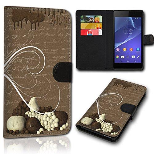 Book Style Wiko Bloom Tasche Flip Brieftasche Handy Hülle Kartenfächer für Wiko Bloom - Design Flip SVH141