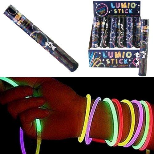 Promobo Set 15Lumino Stick Armband Baton beleuchtet mit Befestigungen -