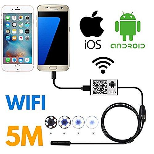 SanSiDo Endoscope Wifi iOS iPhone Android Borescope